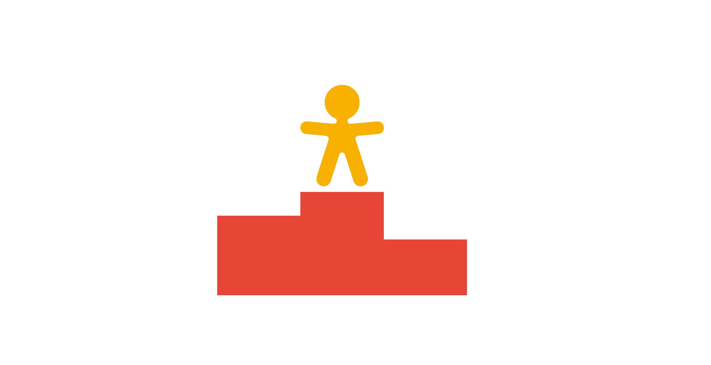 podio randstad award rojo